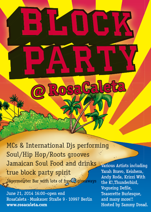 BlockParty flyer